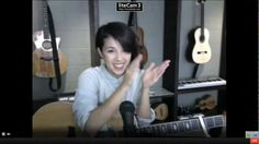 December 15th, 2012. Kina Grannis' Wintertime Request Show on StageIt. Clapping the One You Say Goodnight To. https://www.youtube.com/watch?v=attyv1Pzh5U