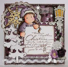 Magnolia Christmas Card
