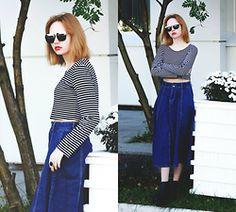 Kristina Magdalina - Dresslink Sunglasses, Cndirect Top, Dresslink Skirt - Unusual for me.