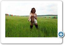 ein #sexy Girl zeigt ihre prallen #Titten in 3 Dimensionen, schöner Effekt, wenn ihr eine #3D Brille habt.