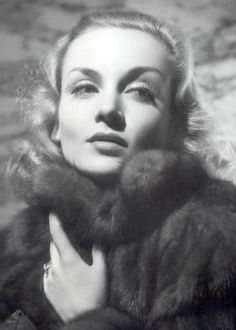 Carole Lombard - No photos can capture her comic timing and gift of laughter.