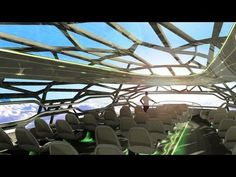 The Future by Airbus - Concept plane cabin  Some great concept designs - Can't Wait!!