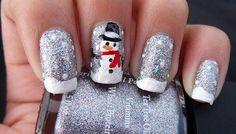 27 Christmas Nail Design @jen Inumerable Roney Filipkowski