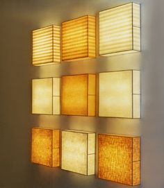 Wall lighting John Wigmore