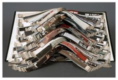 'Life' (altered book) 2004 by Doug Beube.