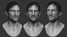 Sharlto Copley likeness sculpting district 9 edition