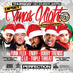 Dipset X-mas Night Hot 97 Edition @ Perfection Thursday December 25, 2014 « Bomb Parties – Club Events and Parties – NYC Nightlife Promotions