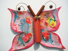 motýl s klovatinovými efekty Bowl Set, Art For Kids, Paper, Art Kids