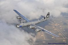 B-29 Flying Fortress. TELL YOUR FRIENDS that we'd love to see them at our aviation themed restaurant, The Left Seat West, in Glendale, Arizona!! Check out our décor at: http://www.facebook.com/pages/Left-Seat-West-Restaurant/192309664138462