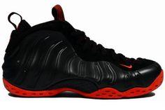 """KicksOnFire: Top 20 Nike Foamposites We'd Like to See"" Full Black / Red"