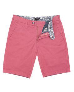 Chino short - Pink | Shorts | Ted Baker