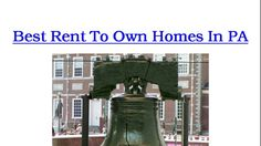 If you're looking for rent to own homes listings in Pennsylvania, I am going to share with you one of the best sources you can use to find  thousands of home lease to buy listings in your area. This source source will save you from having to spend hours and days browsing through hundreds of home listings in hopes of finding one that offers home owner financing.  Visit: http://renttoownoptions.gr8.com to find thousands of rent to own homes listings in Pa.