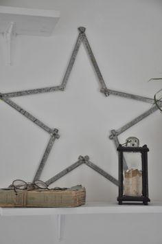 étoile diy