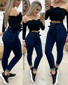 Best 12 Image may contain: one or more people, people standing and stripes – SkillOfKing. Teenage Outfits, Teen Fashion Outfits, African Fashion Dresses, Edgy Outfits, Mode Outfits, Simple Outfits, Classy Outfits, Girl Fashion, Girl Outfits