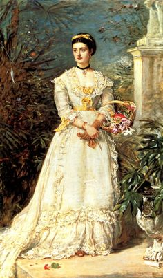 1870 Marchioness of Huntly by John Everett Millais (Tate Collection, London) | Grand Ladies | gogm