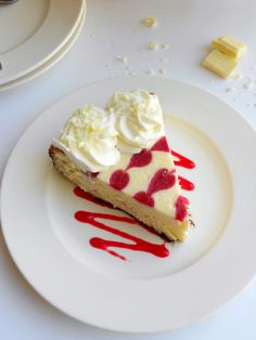 Culinary Couture: White Chocolate Raspberry Cheesecake