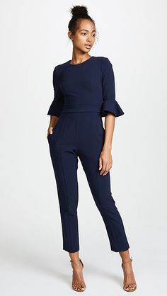 online shopping for Black Halo Brooklyn Jumpsuit from top store. See new offer for Black Halo Brooklyn Jumpsuit Work Fashion, Curvy Fashion, Fashion Outfits, Womens Fashion, Business Outfits, Office Outfits, Business Attire, Dress Code, Best Cocktail Dresses