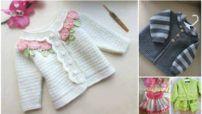 Μπουφάν Μοντέλο Cool παιδιά - πολύ κομψό και καλαίσθητο μοτίβα γιλέκο πλέξιμο