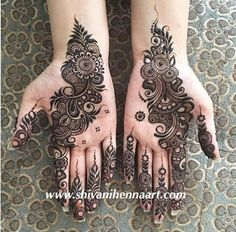result for mehndi henna Palm Mehndi Design, Floral Henna Designs, Mehndi Designs Book, Mehndi Designs 2018, Mehndi Designs For Girls, Modern Mehndi Designs, Mehndi Design Pictures, Wedding Mehndi Designs, Henna Tattoo Designs