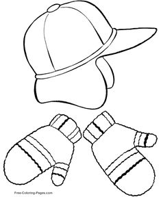 Free Winter Coloring Pages Printable 6