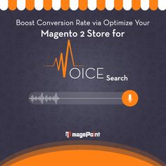 Do you know in 2018, over 1 million searches were #VoiceSearches? And Hey, wake up! We are here in 2021: The era of Robotics & Digitisation. Is your #MagentoSite prepared to serve these techie-geeks? Well, you're just a click away from the answer. #Magento #Magnto2 #MagentoDevelopment #eCommerce #magePoint