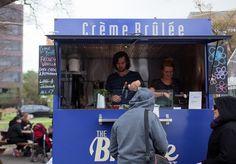 The Brûlée Cart Takes on the Trucks #melbourne #trailerparkmelb #villagemelb #stkildaroad