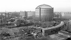 Gaswerk Prenzlauer Allee,Berlin 1984