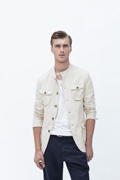 Zara Men June/2012 lookbook  Kind of in love with this jacket!!!