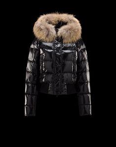 2016 17 Moncler Alpin Detachable Fur Trimmed Collar Black Jackets  Nylon Polyamid Womens 41236470CT  Moncler Jacket 2016  1347  - €230.40    Moncler Online ... 17c8ba642d682