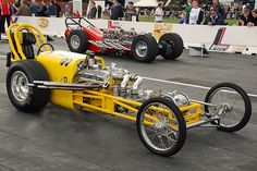 "Old School Moon Eyes Dragster. Old Farts Like Me Knew Them As ""Rails."""