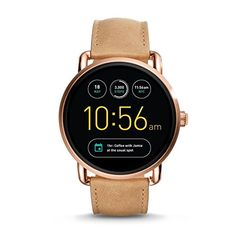 Fossil Q Q Wander Touchscreen Smartwatch - Women Wrist Watch on YOOX. The best online selection of Wrist Watches Fossil Q. Fossil Watches, Cool Watches, Watches For Men, Analog Watches, Women's Watches, Smartwatch, Fossil Q Wander, Digital Wrist Watch, Fossil Jewelry