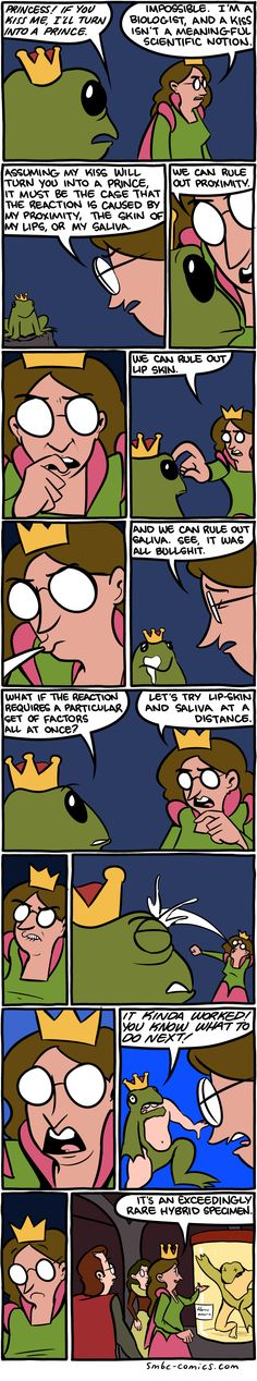 Frog Prince Science Comic http://geekxgirls.com/article.php?ID=8491