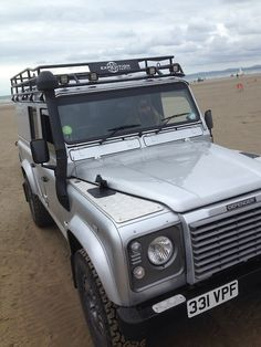 No age limits on the beach with a Land Rover!  www.landroversanjuantx.com