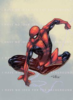 Spider-Man - Paris Manga Show - Logicfun colors by SpiderGuile on DeviantArt