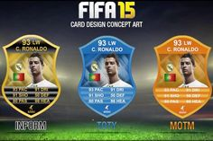 What would you like to see with new FIFA 15 card designs?