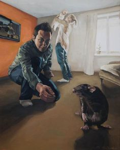 Picture with a rat. on Behance