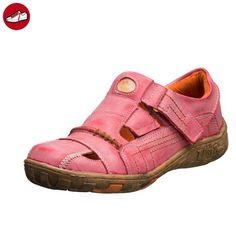 TMA Sandalette 7668. Größe 36 - 42 . Neues Modell. Tma Schuhe Breiter Schnitt. Bequem mit dicker Sohle und perforiertem Fußbett. Leder. In den Farben Antikgrün, Cremeweiss, Amtikrot oder Antikblau (37