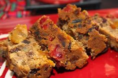 """This seriously is a fruitcake recipe everyone will love! It has converted many fruitcake """"haters"""" and is sure to be one of your new favorite Christmas recipes! Baking Recipes, Dessert Recipes, Cake Recipes, Desserts, Fruit Recipes, Bread Recipes, Holiday Recipes, Christmas Recipes, Christmas Foods"""
