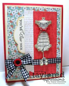 Taylored Expressions Couture card