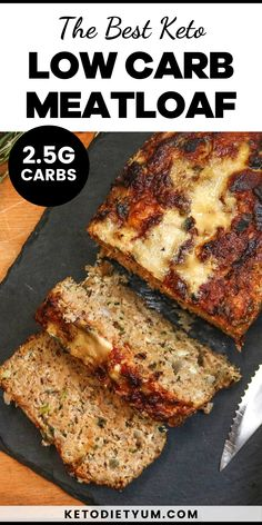 Our keto meatloaf recipe is the perfect keto-friendly dinner that the whole family will love. Baked to perfection it comes out juicy, tender and absolutely delicious!