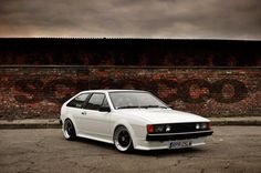 4. VW Scirocco, white with front fog lamps,  Go To www.likegossip.com to get more Gossip News!