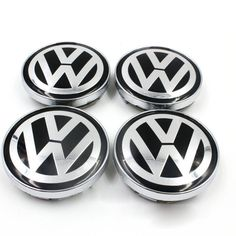 4x VW WHEEL CENTER CAPS RIM HUB CAP 60mm/55 Volkswagen PASSAT Jetta GOLF Bettle…
