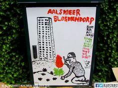 kunstkast van rein van der zee Urban Street Art, Box Art, Holland, Boxes, Van, Painting, Dutch Netherlands, Crates, Vans