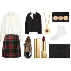 A fashion look from February 2015 featuring white turtleneck, straight jacket and plaid mini skirt. Browse and shop related looks. Shoe Bag, Polyvore, Stuff To Buy, Shopping, Shoes, Design, Women, Fashion, Moda
