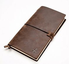 Leather Notebook Journal Refillable Perfect for Writing Gifts Fountain Pen Users Travelers Professional Diary Classic Vintage Style by Wanderings >>> You can get more details by clicking on the image. Notebook Covers, Journal Notebook, Journals, Journal Covers, Leather Notebook, Leather Journal, Journal En Cuir, Cool Notebooks, Cool Gadgets To Buy