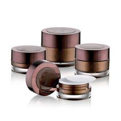 J19 Round Acrylic Jars