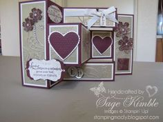 stampin up elegant lines wedding card - Google Search