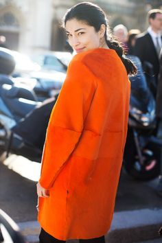 On The Street….Last Day of Fashion Week, Paris