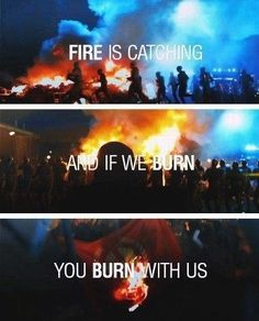 Hunger Games Quote / Catching Fire / Katniss Everdeen / Suzanne Collins