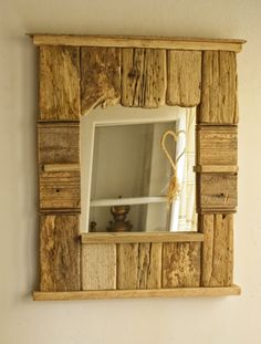 i could see this in my home. drift wood or reclaimed lumber